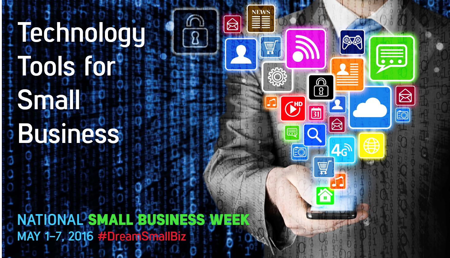 Celebrate National Small Business Week with 5 Top Technology Tools for Small Business
