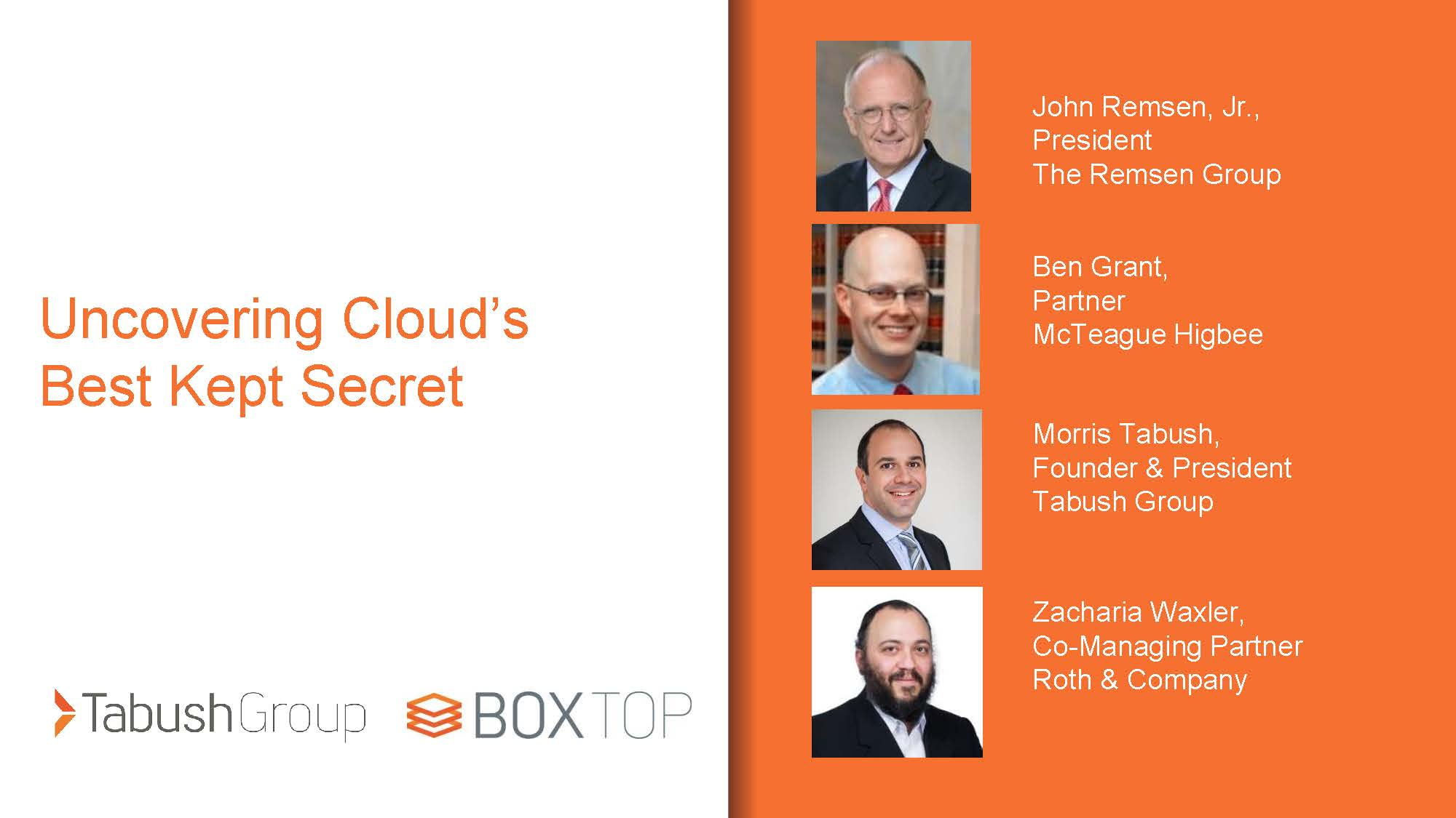 Replay: Uncovering Cloud's Best Kept Secret